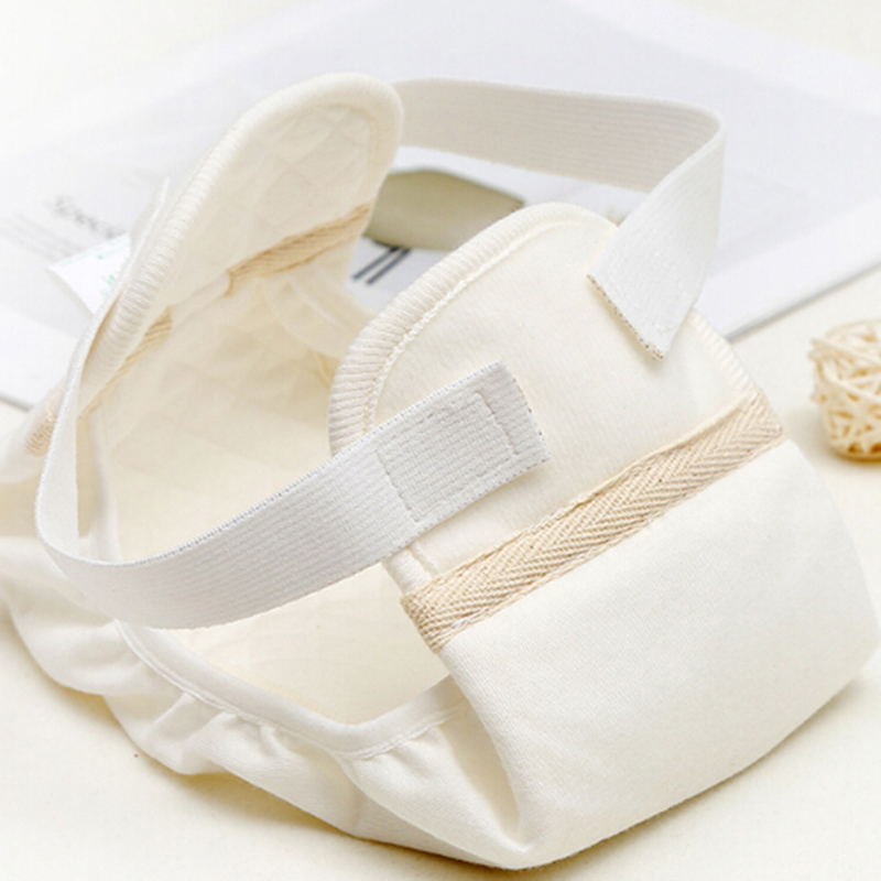 Three-dimensional Anti-side Leakage Baby Cloth Diaper New Baby Cotton Soft White Diaper Newborn Diaper Pants Hot Sale