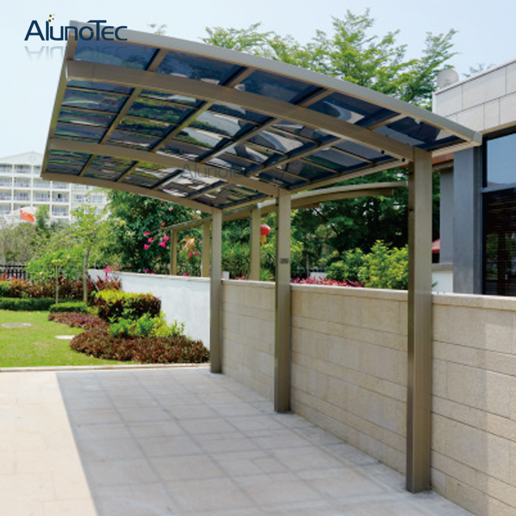 Awning Aluminium Canopy Carport With Polycarbonate Roof
