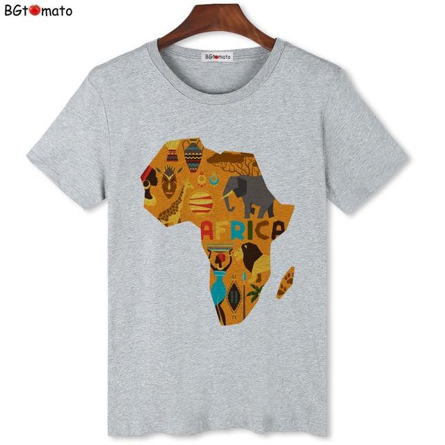 T-shirt Afrique Cartoon 3
