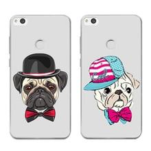 Fashion Animals Dog Silicone soft TPU Phone Case For Huawei Y5 2017 Y6 II Pro Y7 Nova 2 Plus P8 P9 Honor 9 6A Mate 10 P10 lite [ no battery app] tripod monopod selfie stick selfi palo for huawei p10 p9 nova 2 plus y7 y5 y3 y6 honor 9 8 v8 play 6s 7 mate 9