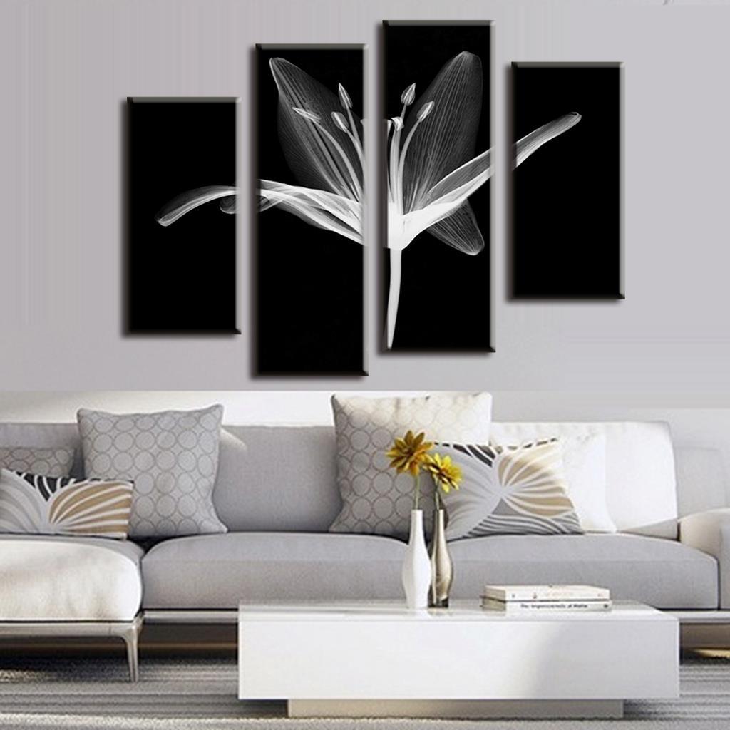 buy modern 4 pcs set combined floral. Black Bedroom Furniture Sets. Home Design Ideas