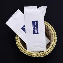 10 шт Одноразовые Нетканые влажные салфетки ткани индивидуально обернутые Портативные Ручные