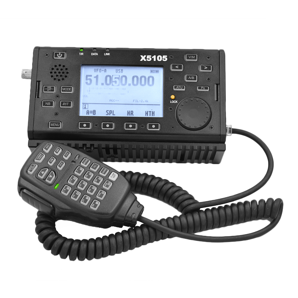 Xiegu X5105 OUTDOOR VERSION 0.5-30MHz 50-54MHz 5W 3800mAh HF TRANSCEIVER With IF Output All Bands Covering SSB CW AM FM RTTY PSK