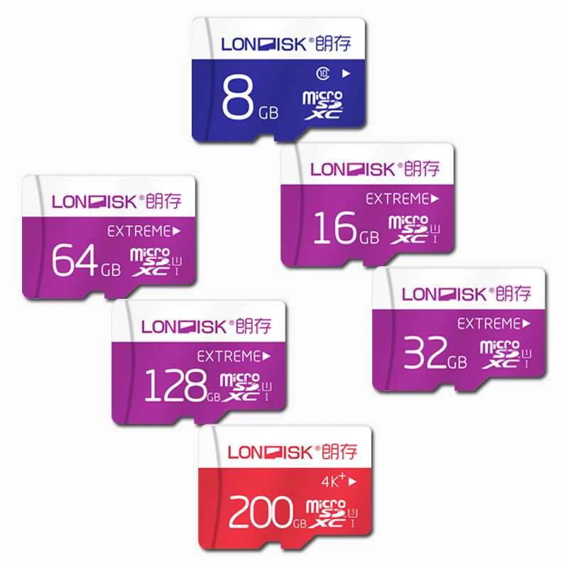 Londisk  Micro SD Card 16GB/32GB/64GB/128GB Class10 UHS-1 Flash Memory Card 200gb UHS-3 Microsd For Smartphone Pad camera карта памяти other 64 sd 32gb 10 microsd 16 8gb tf flash 64 gb micro sd card