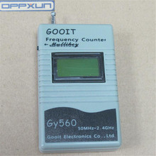 OPPXUN  GY560 Frequency Counter Meter for Two Way Radio Transceiver 50 MHz 2.4 GHz 7 DIGIT LCD two way radios frequency