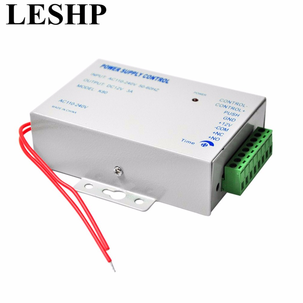 LESHP Door Access Control system Switch Power Supply 3A/AC 110~240V DC 12V for RFID Fingerprint Access Control Device Machine зеркало для душа umbra flex
