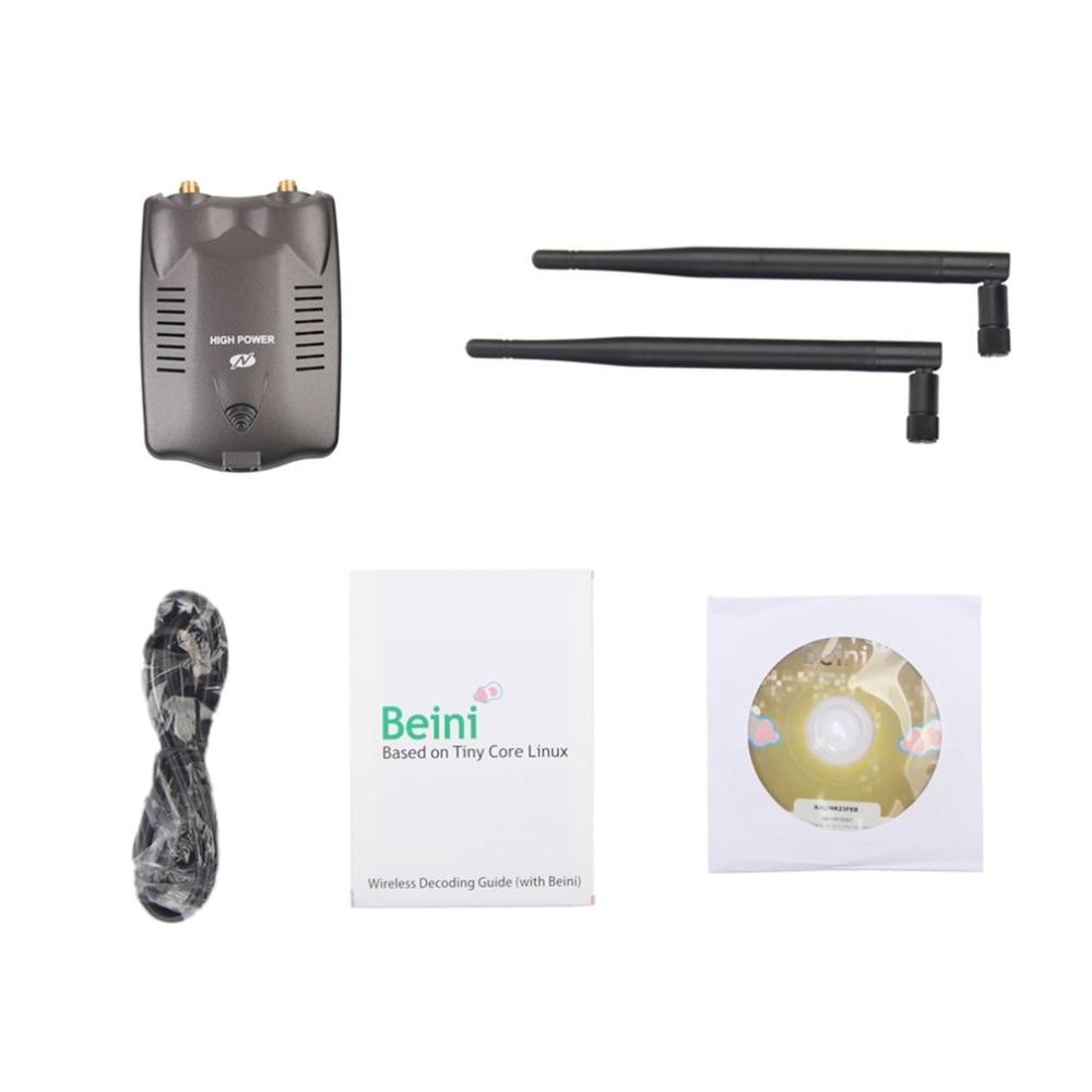 BT-N9100 High-power Wireless Network Card PC Wireless Access Point USB Wifi Adapter Dual Antenna Get WIFI Freely