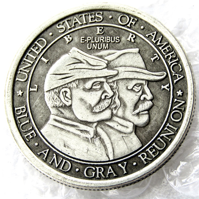 USA 1936 Battle of Gettysburg  Anniversary Half Dollar Copy - Home Decor
