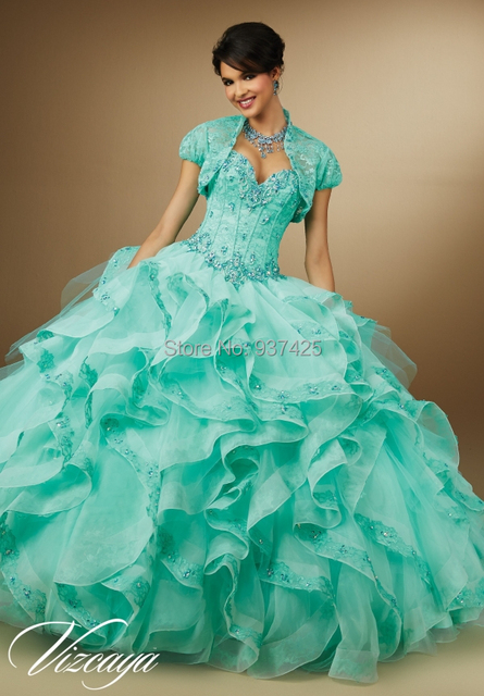 Aliexpress.com : Buy 2015 Turquoise Wholesale Ball Gown Party ...