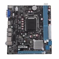 Black Mainboard Motherboard 1155 Pin CPU lga 1155 Interface Upgrade USB2.0 DDR3 1600/1333 for Desktop Computer