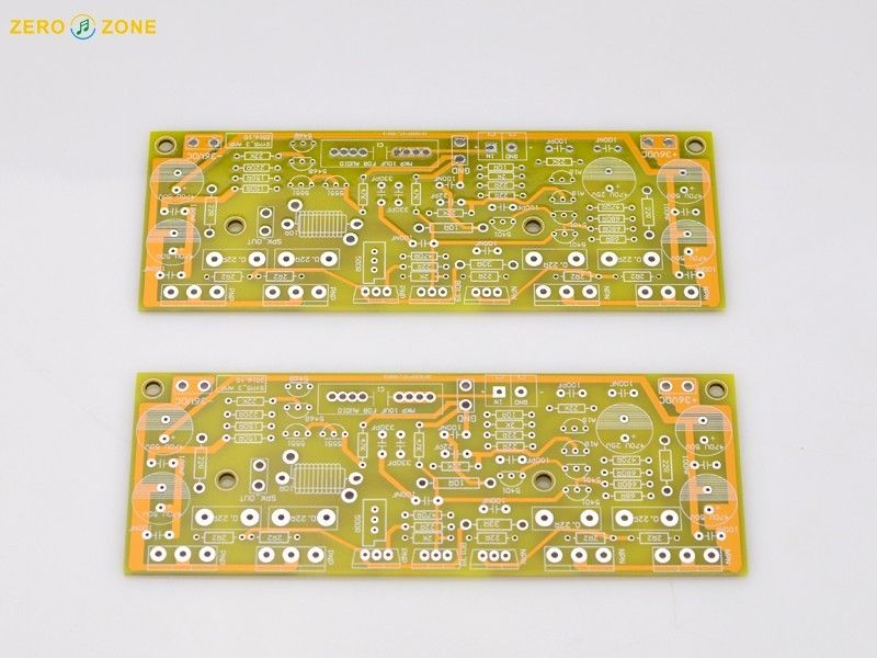 GZLOZONE Pair Classic Symasym 5-3 Discrete Power Amplifier Bare PCB -- L10-49