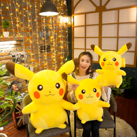 35cm 90cm Pikachu Plush Toys Children Gift Cute Soft Toy Cartoon Pocket Monster Anime Baby Kids Toy Pikachu Stuffed Plush Doll