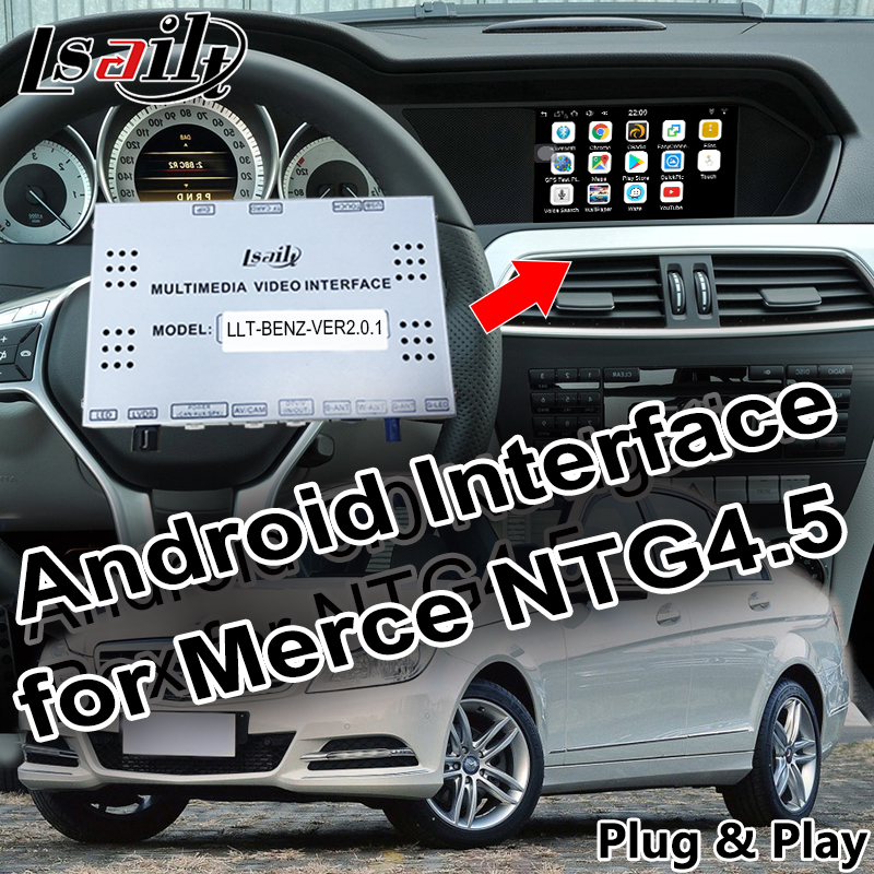 Android 6.0 Car Navigation for 2012-2014 Benz C/B/A/E/GLC/CLA/GLE( NTG4.5 System ) with Online map Mirrorlink App WIFI Android 6.0 Car Navigation for 2012-2014 Benz C/B/A/E/GLC/CLA/GLE( NTG4.5 System ) with Online map Mirrorlink App WIFI