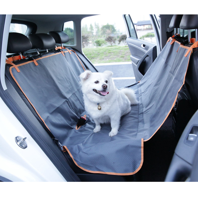 Pet Product Dog Car Seat Cover For Waterproof Trunk Puppy Cat Hammock