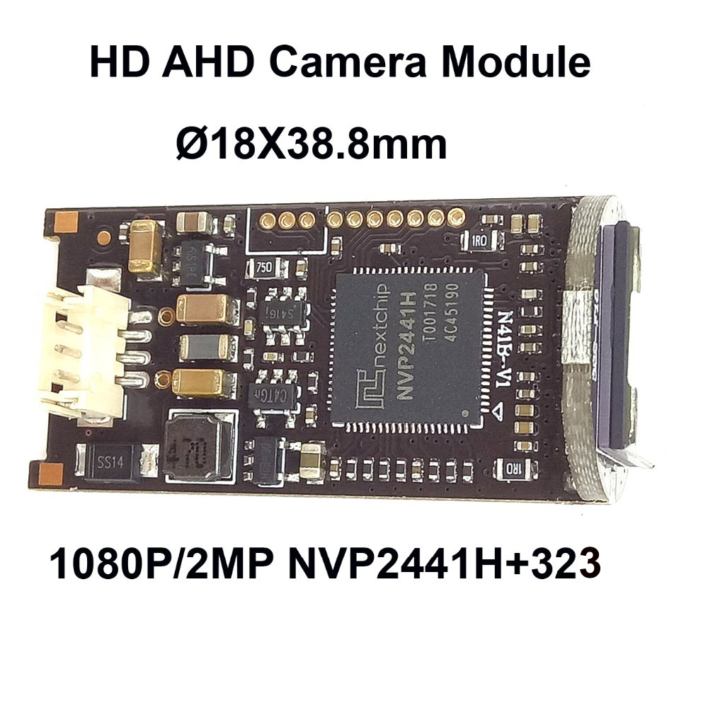 CNDST Mini Bullet 1080P HD AHD Camera Board 2.0MP StarLight Mini Bullet Camera Module Sony Sensor 2441+323CMOS