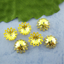 US $1.37 19% OFF|Doreen Box Lovely 300PCs Gold color Flower Spacers Beads Caps 9mm Dia. (B00878)-in Jewelry Findings & Components from Jewelry & Accessories on Aliexpress.com | Alibaba Group