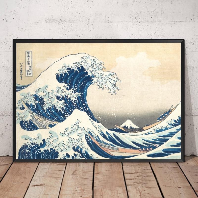 постер и картины японии всех