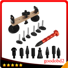 цена на PDR Pulling Bridge Dent Remover Hand Tool Set for Paintless Dent Repair+ Tap Down Knock Down Hail Removal Tools w/9 Heads