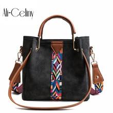 Дизайнерские брендовые кожаные bolsas femininas Для женщин сумка женская Pattern Сумки-тоут сумка из кожи крокодила «2 в 1»