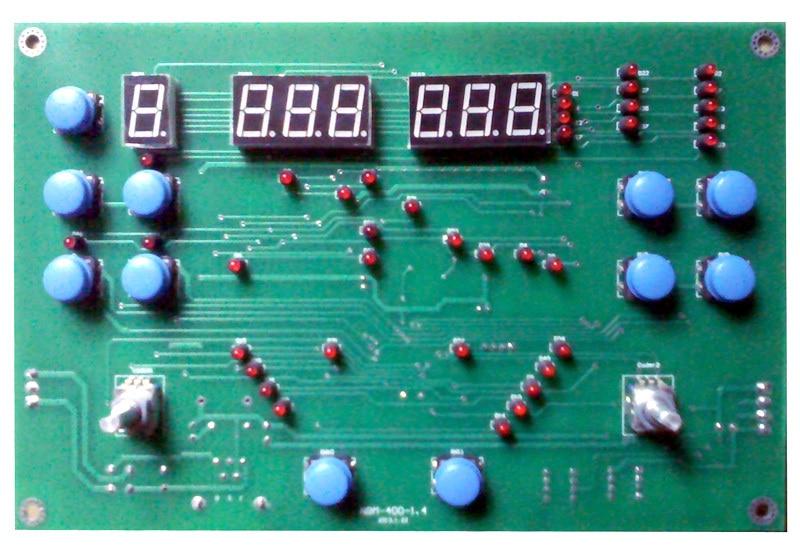 NBM - 400 többfunkciós gépi vezérlőpanel Négy táblát - Hegesztő felszerelések - Fénykép 2