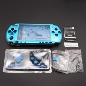Image 5 - 1Set Voor PSP3000 Psp 3000 Shell Oude Versie Game Console Vervanging Volledige Behuizing Cover Case Met Knoppen
