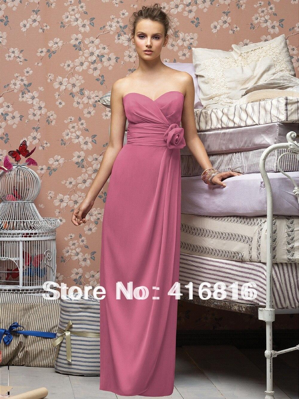 Dark Rose Bridesmaid Dresses