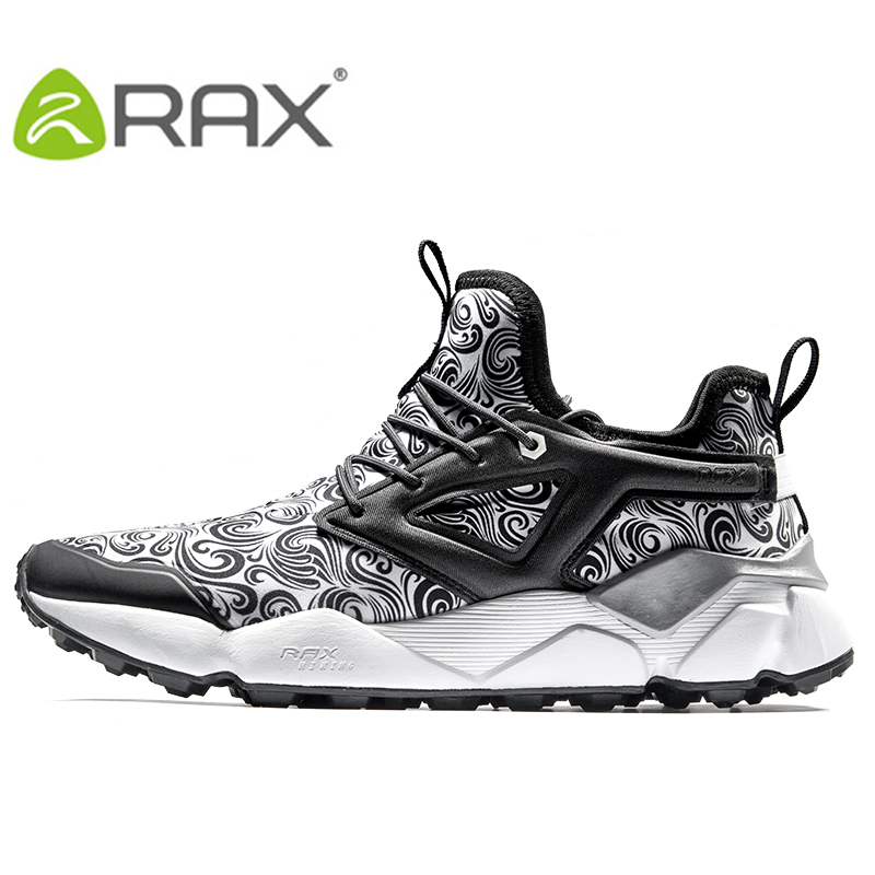 RAX Men's Breathable Hiking Shoes Outdoor Sports Trail Shoes Sneakers Comfort Walking Shoes for Men rax summer hiking shoes men breathable outdoor sneakers antiskid trail mountain shoes women sports shoes durable climbing shoes