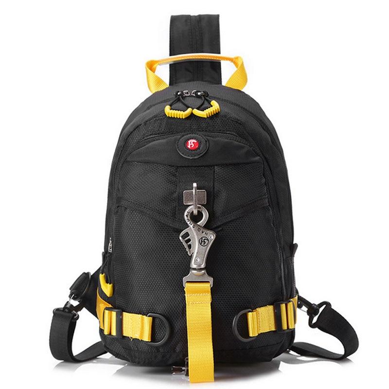 Spalla Pacchetto Zaino Unisex Nylon Green Messenger Equitazione black Sling Di Torna Militare Petto Torace New Multiuso Bag Zipper wRgX1wq
