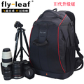 Venta caliente FlyLeaf FL-326 antirrobo slr profesional de doble hombro bolsa de la cámara mochila FL326 big bag