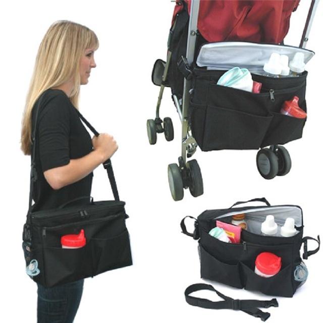 Accesorios del Cochecito De bebé Cochecito de Bebé Mantener Caliente Bolsas de Almacenamiento También Puede Ser Bolso de Hombro