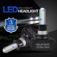 NICECNC H4 H7 H11 H1 H13 H3 9004 9005 9006 9007 9012 CSP LED Car Head Lamp Headlight Conversion Kit Auto Bulb All In One 12V