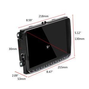 Image 3 - Podofo Radio samochodowe z androidem 9 2GB/1GB nawigacja GPS 2din Autoradio WIFI Bluetooth Stereo uniwersalny odtwarzacz multimedialny do VW Golf