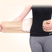 Slimming Waist Belts Sports Safety Body Shaper Training Corsets Yoga Fitness Tops Charcoal Wool Warm Waist Brace Lumbar Belts