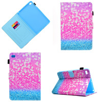 Ultra Thin Print Multiple Angle Stand PU Leather Magnet Smart Sleep Skin Cover Funda Case For