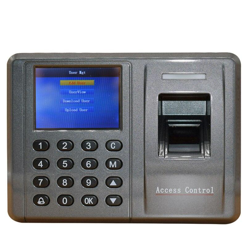 125 кГц RFID отпечатков пальцев wiegand Управление доступом ЖК-дисплей Дисплей tcp/ip машина времени записи для офиса Factory Применение