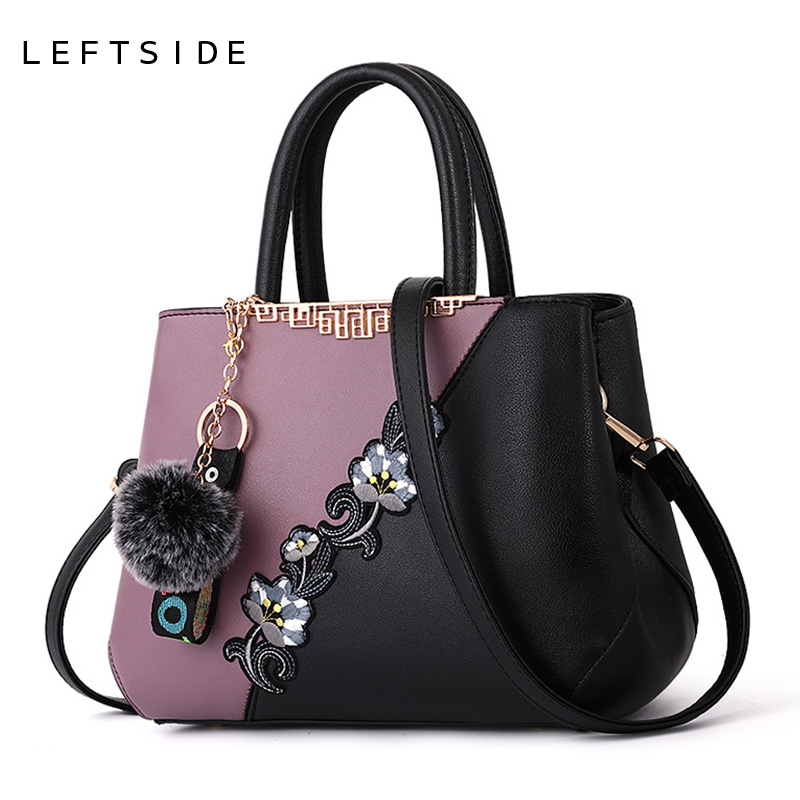 LEFTSIDE Women Embroidery Handbags Ladies Embroidered Shoulder Bag Female Stitching color Hand Bags Woman Flowers Crossbody Bag-in Shoulder Bags from Luggage & Bags on Aliexpress.com | Alibaba Group