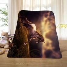 P#101 Custom Horse#10 Home Decoration Bedroom Supplies Soft Blanket size 58×80,50X60,40X50inch SQ01016@H+101