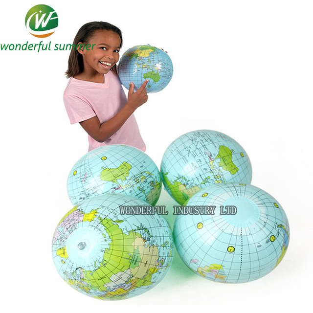 25cm education learning resources inflatable earth globe world map 25cm education learning resources inflatable earth globe world map children baech pool sport ball blow up gumiabroncs Images