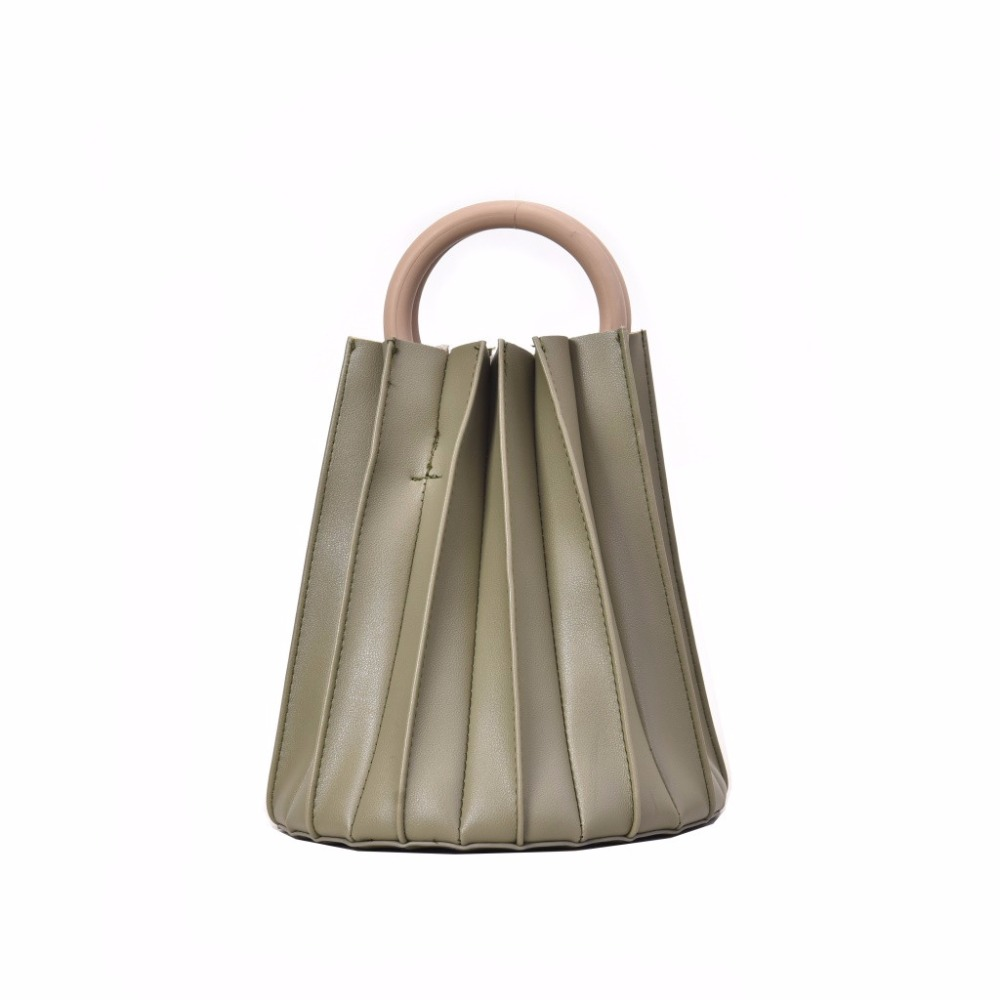 The Best Women Retro Pure Color Leather Bouffant Tote Bag Handbag Messenger Bag Beach Bag Backpack 2019 Fashion Korean 0429 Relieving Rheumatism And Cold Backpacks