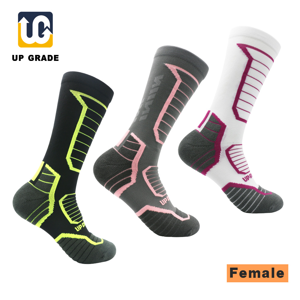 UG 1Pair/Lot Knee-High Men Lady Cycling Riding Socks Breathable Outdoor Sport Running Socks Camping Cycling calcetines ciclismoUG 1Pair/Lot Knee-High Men Lady Cycling Riding Socks Breathable Outdoor Sport Running Socks Camping Cycling calcetines ciclismo