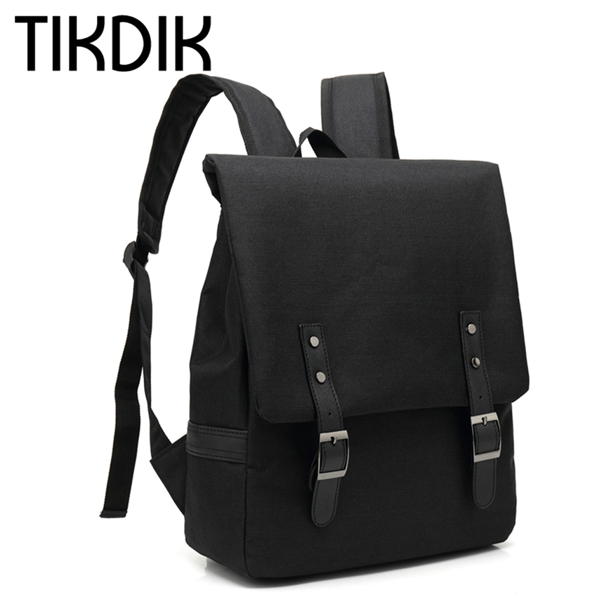 Unisex Canvas Backpacks Fashion School Bags for Teenager Boys Girls Large Capacity Travel Laptop Backpack leather mochila rugtas kaukko large capacity shoulder bag mens traval canvas backpack unisex bags for teenager school knapsacks
