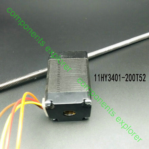 Stepper Motor,Nema11 Non-captive Linear Stepper Motor 11HY3401-200T52 stepper motor nema23 56mm non captive linear stepper