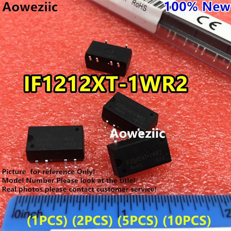 Aoweziic (1 piezas) (2 piezas) (5 piezas) (10 piezas) IF1212XT-1WR2 Original SMD entrada: 12 V regular salida: 12 V 0.083A DC-DC 3kV voltaje aislado Señal de luz de neón Transformador electrónico fuente de alimentación HB-C02TE 3KV 30mA 5-25W ajuste para cualquier tamaño de vidrio señal de luz de neón Mayitr