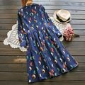 Maternity clothes spring and autumn outfit 2016 corduroy long-sleeved pregnant women dress A skirt loose women dress the doll