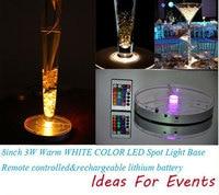 Free shipping Lot of 10pcs LED wedding centerpieces, under candelabra flowers vase decor for wedding party decoration