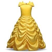 3 10 Years Girls Princess Beauty Fairy Kids Fancy Party Christmas Dress New Year Costume Princess