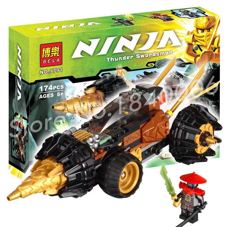 174Pcs 2016 font b New b font Bela 9791 Cole Earth Driller Phantom Ninja Series Sets