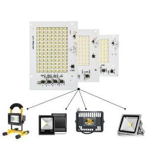 LATTUSO Led Lampe 10 W 20 W 30 W 50 W 100 W Smart IC Flutlicht COB Chip SMD 2835 5730 Outdoor Lange Service Zeit DIY Beleuchtung In 220 V