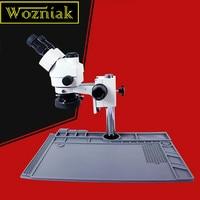 Wozniak S190 Mobile phone maintenance microscope large base platform high temperature insulation rubber mat workbench