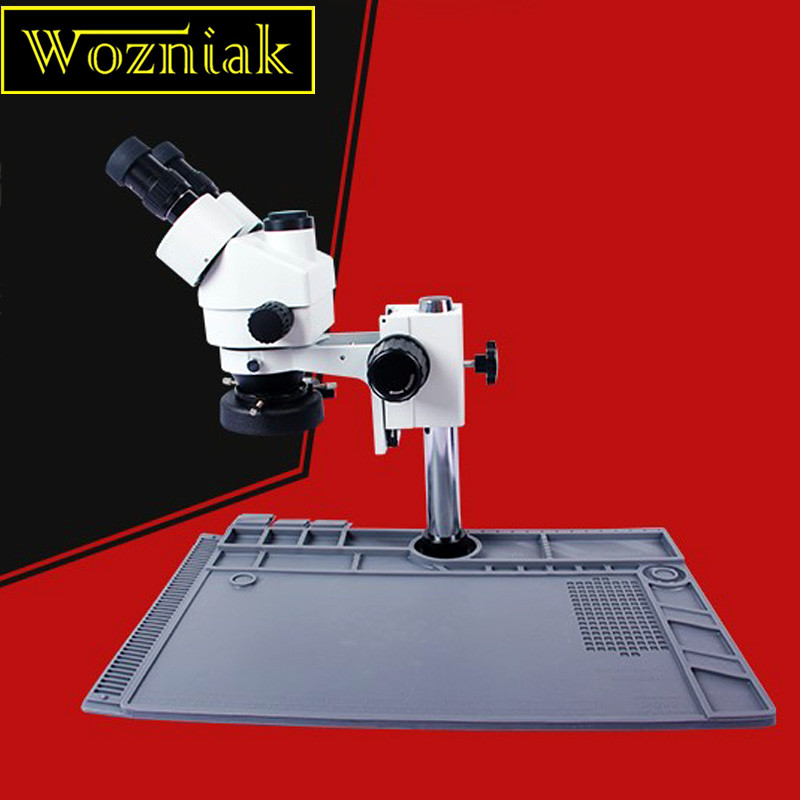 купить Wozniak S190 Mobile phone maintenance microscope large base platform high temperature insulation rubber mat workbench недорого